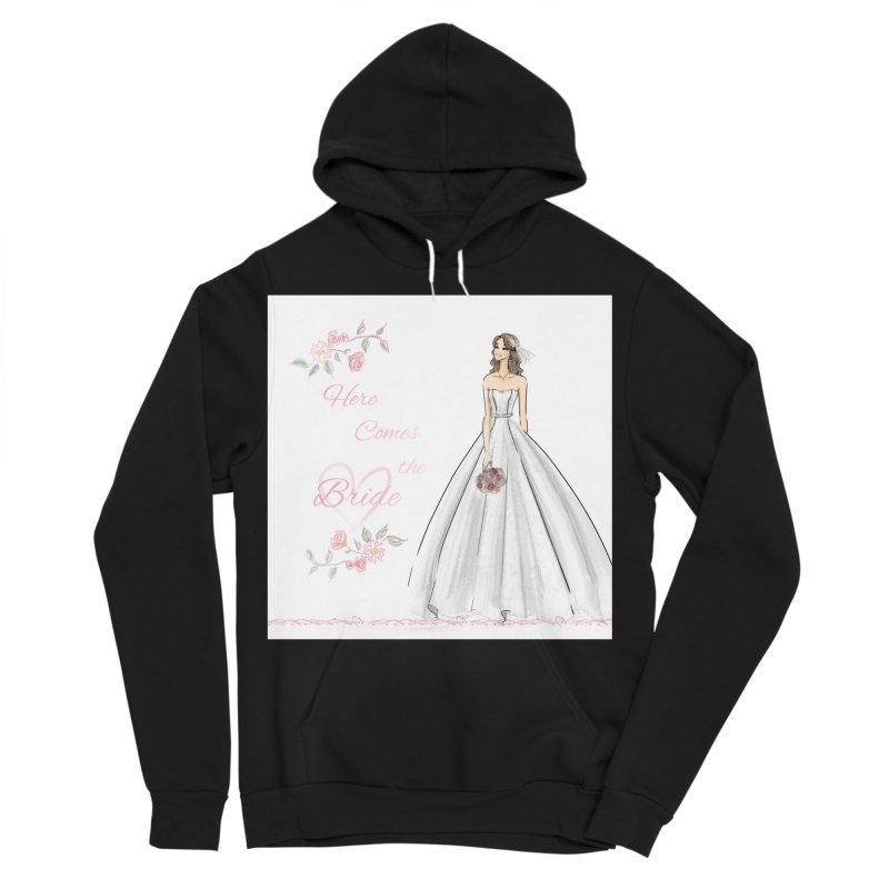 Here Comes The Bride- Light Women's Sponge Fleece Pullover Hoody by Deanna Kei's Artist Shop
