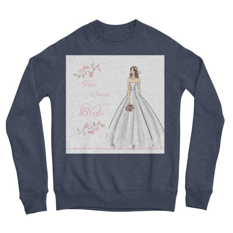 Here Comes The Bride- Light Women's Sponge Fleece Sweatshirt by deannakei's Artist Shop