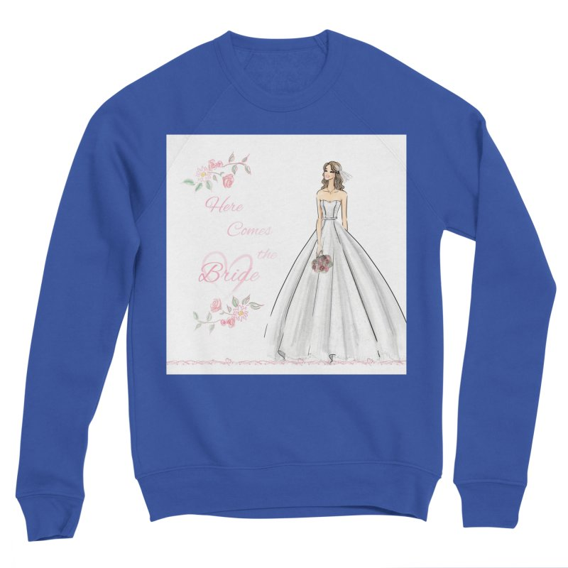 Here Comes The Bride- Light Women's Sweatshirt by Deanna Kei's Artist Shop