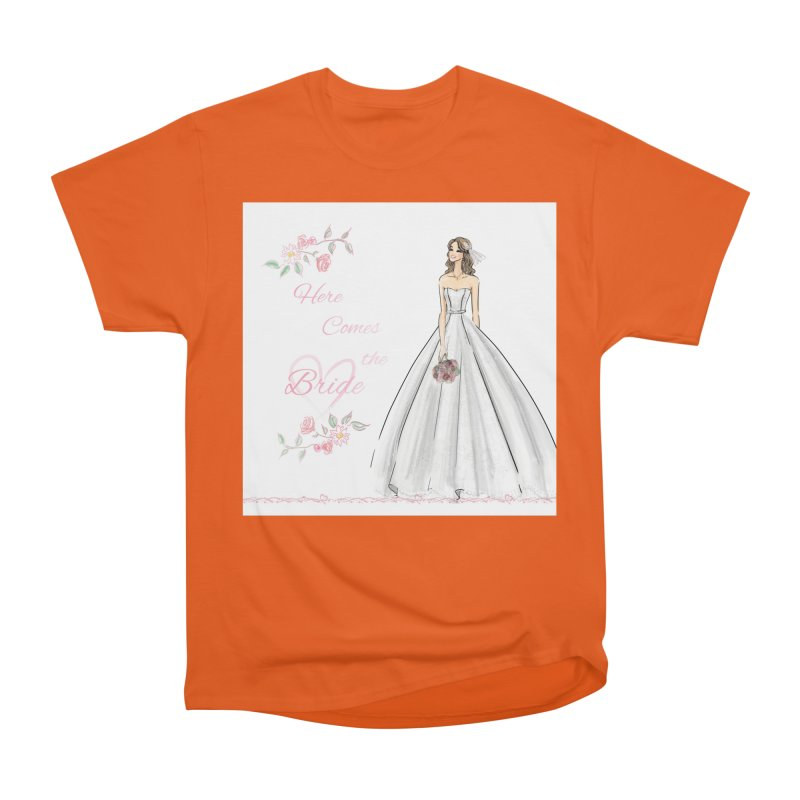 Here Comes The Bride- Light Women's T-Shirt by Deanna Kei's Artist Shop