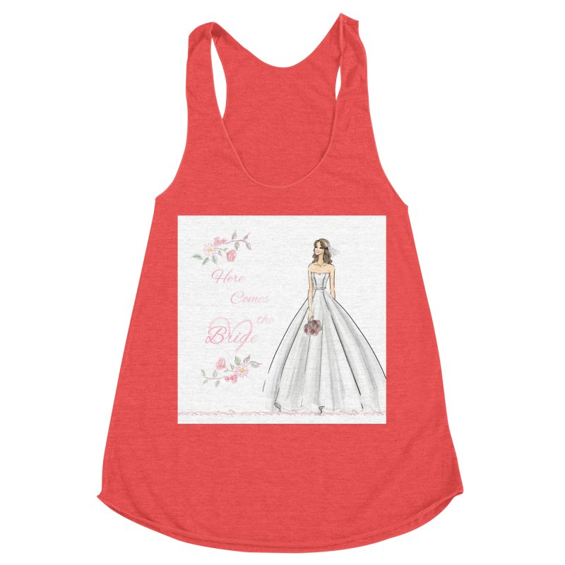 Here Comes The Bride- Light Women's Tank by Deanna Kei's Artist Shop