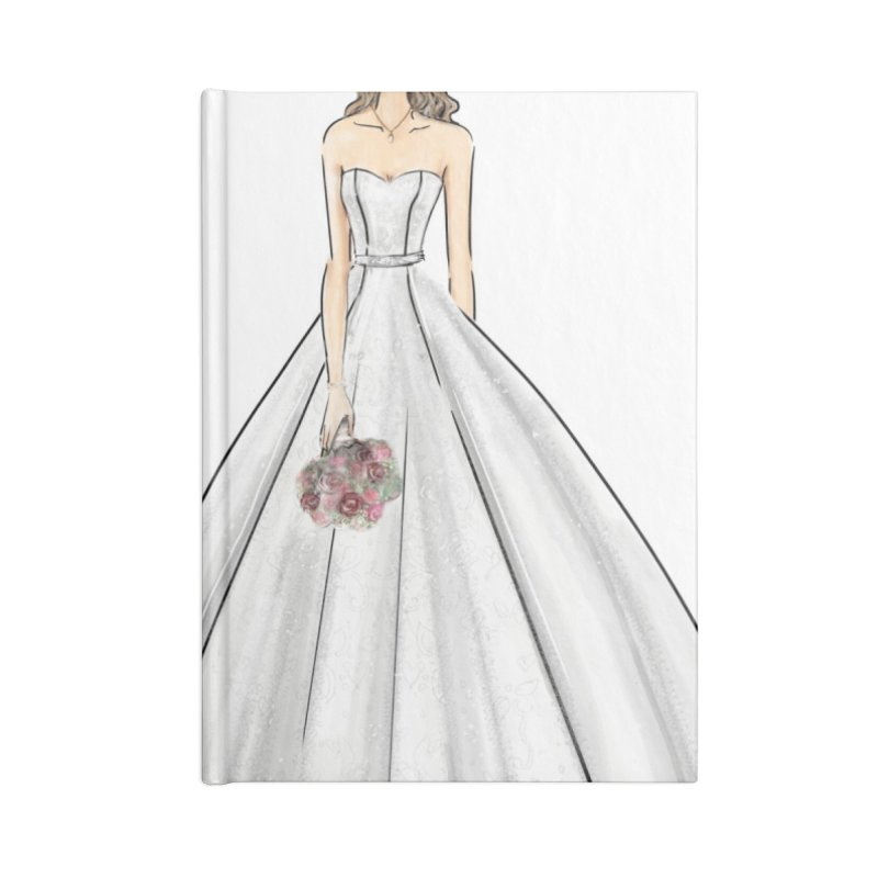 Here Comes The Bride- Light Accessories Blank Journal Notebook by Deanna Kei's Artist Shop