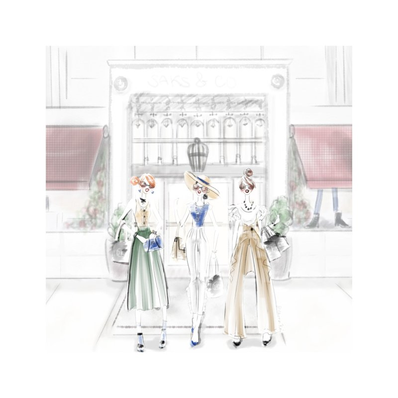 5th Avenue Girls by deannakei's Artist Shop