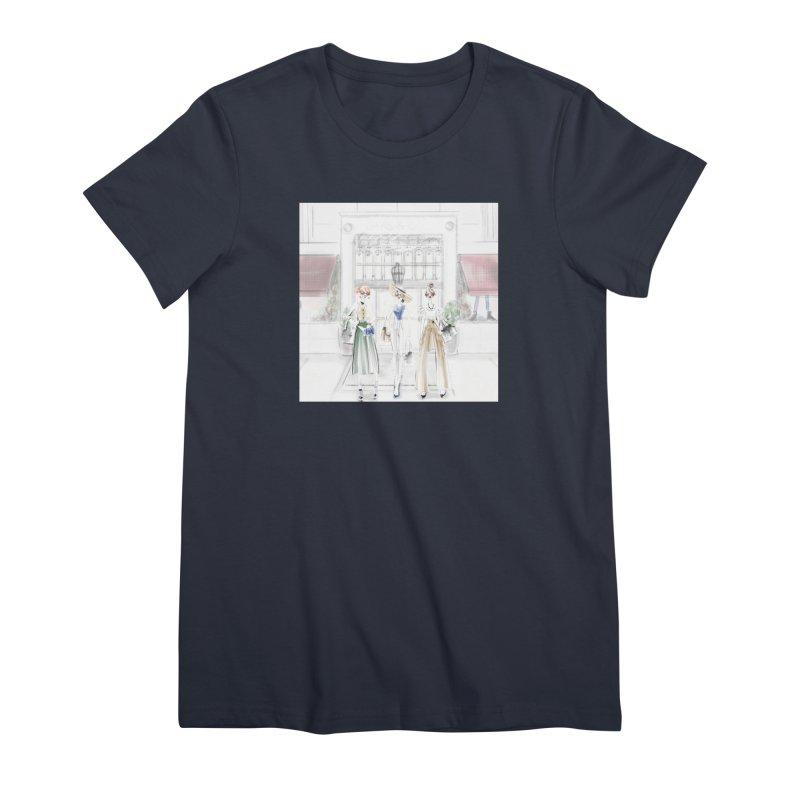 5th Avenue Girls Women's Premium T-Shirt by deannakei's Artist Shop