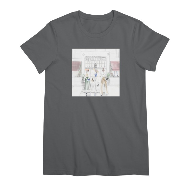 5th Avenue Girls Women's Premium T-Shirt by deannakei's Artist Shop