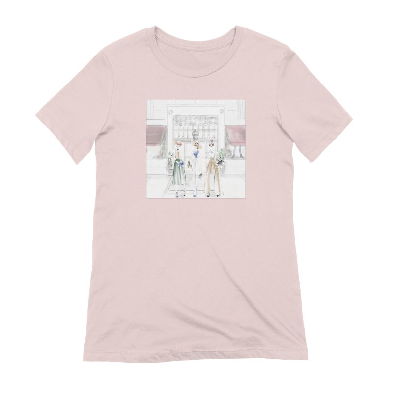 5th Avenue Girls Women's Extra Soft T-Shirt by deannakei's Artist Shop