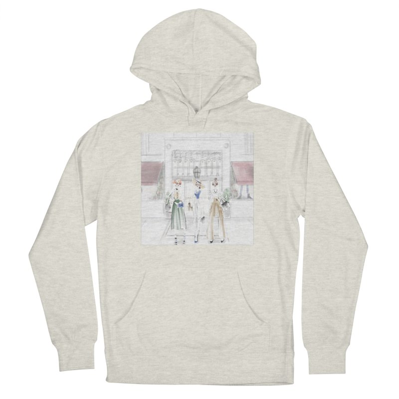5th Avenue Girls Women's French Terry Pullover Hoody by deannakei's Artist Shop