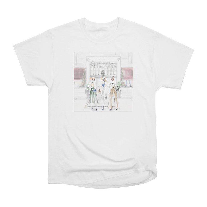 5th Avenue Girls Women's Heavyweight Unisex T-Shirt by deannakei's Artist Shop