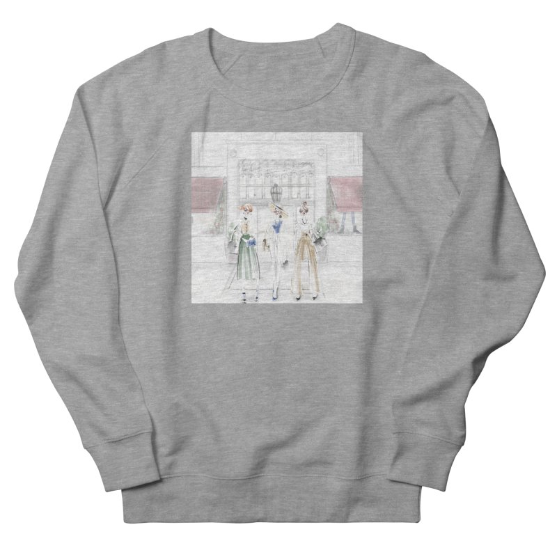 5th Avenue Girls Women's French Terry Sweatshirt by deannakei's Artist Shop