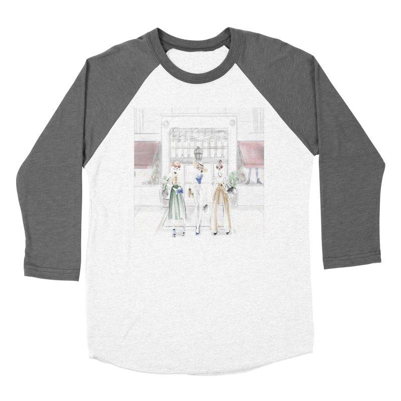 5th Avenue Girls Women's Baseball Triblend Longsleeve T-Shirt by deannakei's Artist Shop