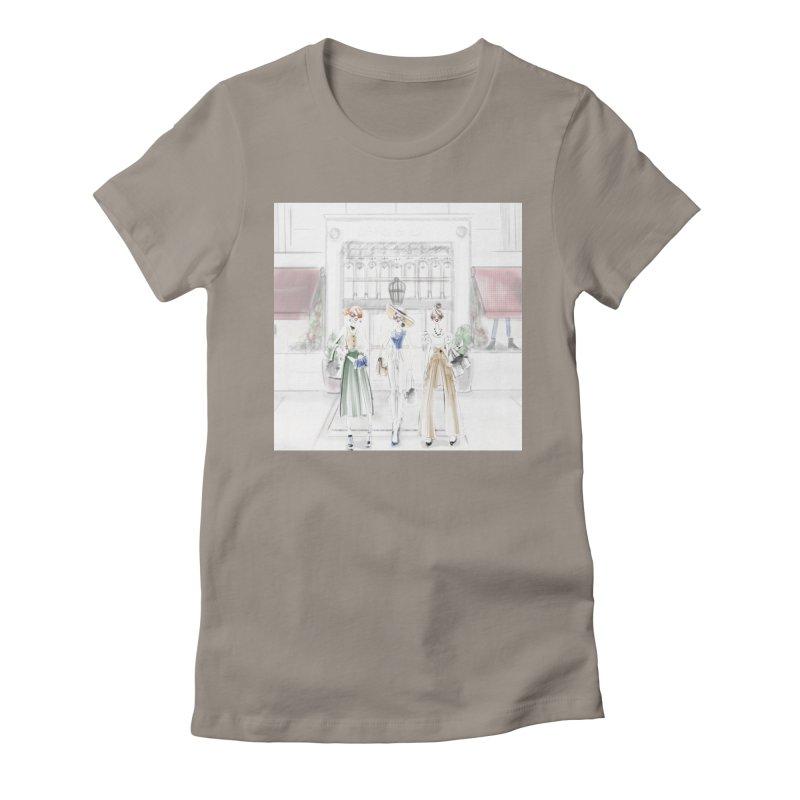 5th Avenue Girls Women's Fitted T-Shirt by deannakei's Artist Shop