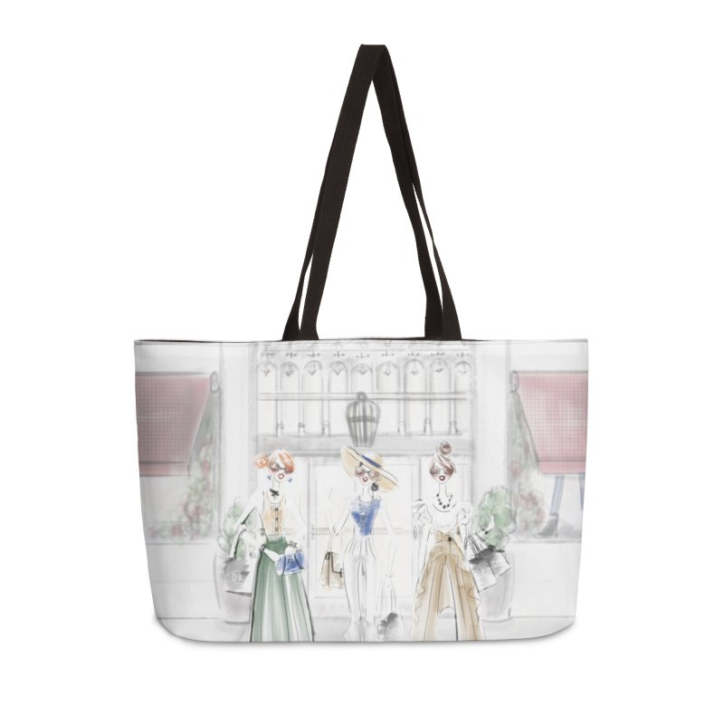 5th Avenue Girls Accessories Weekender Bag Bag by deannakei's Artist Shop