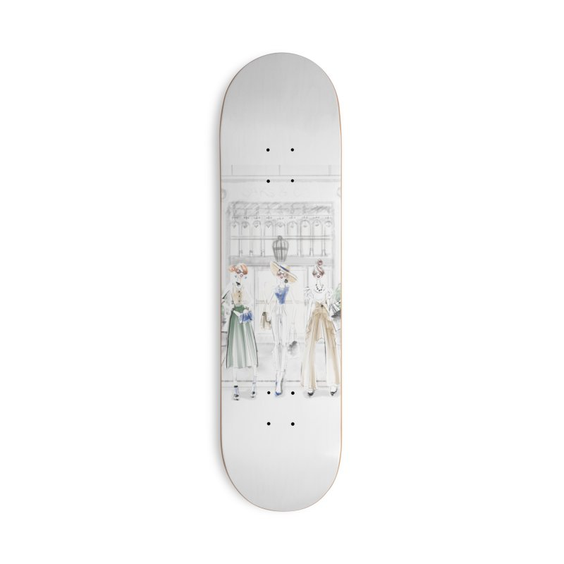 5th Avenue Girls Accessories Deck Only Skateboard by deannakei's Artist Shop