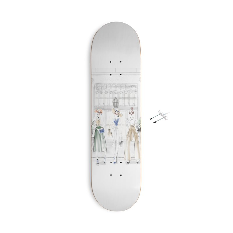 5th Avenue Girls Accessories With Hanging Hardware Skateboard by deannakei's Artist Shop