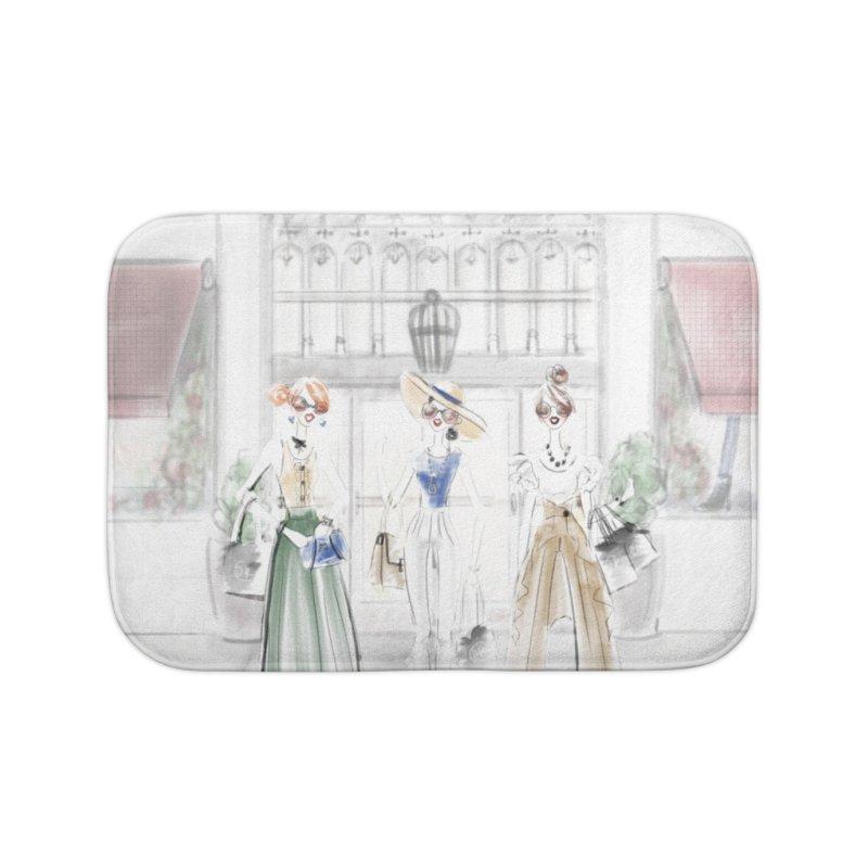 5th Avenue Girls Home Bath Mat by deannakei's Artist Shop