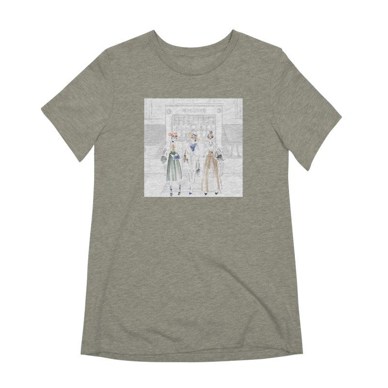 5th Avenue Girls Women's Extra Soft T-Shirt by deannakei's Artist Shop