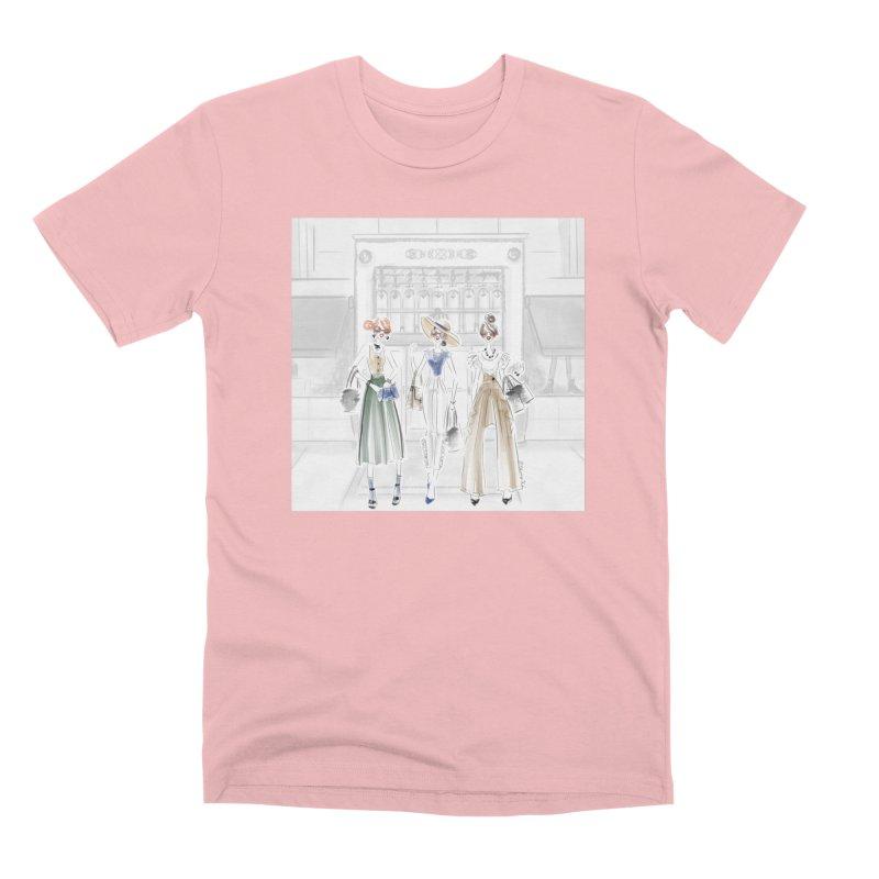 5th Avenue Girls Men's Premium T-Shirt by deannakei's Artist Shop