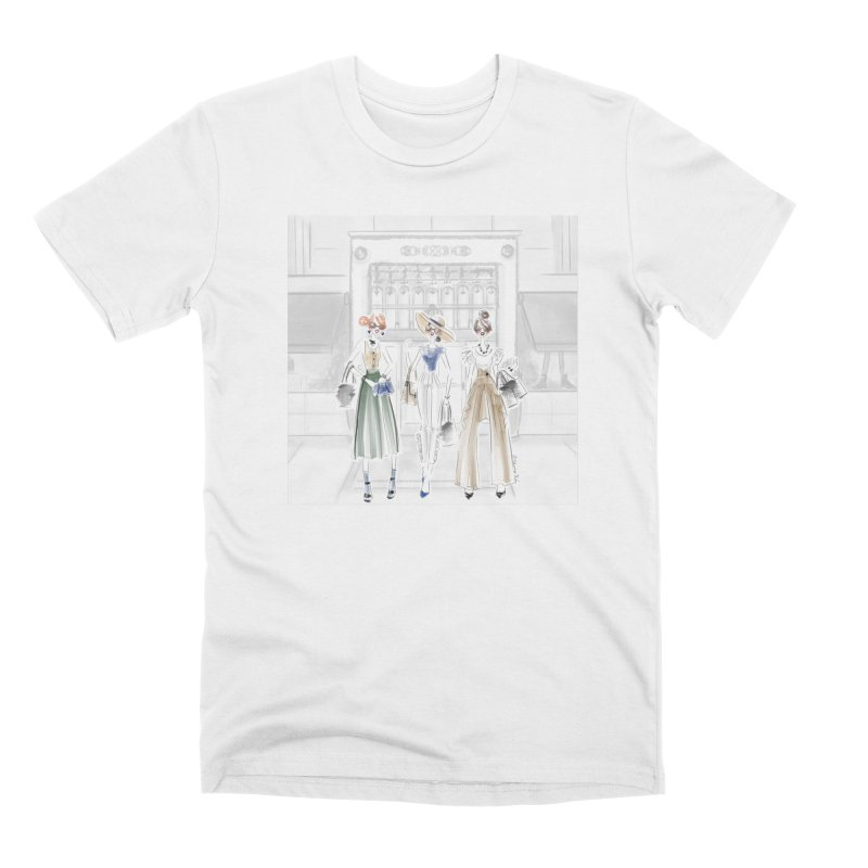 5th Avenue Girls Men's Premium T-Shirt by deannakei's Artist Shop