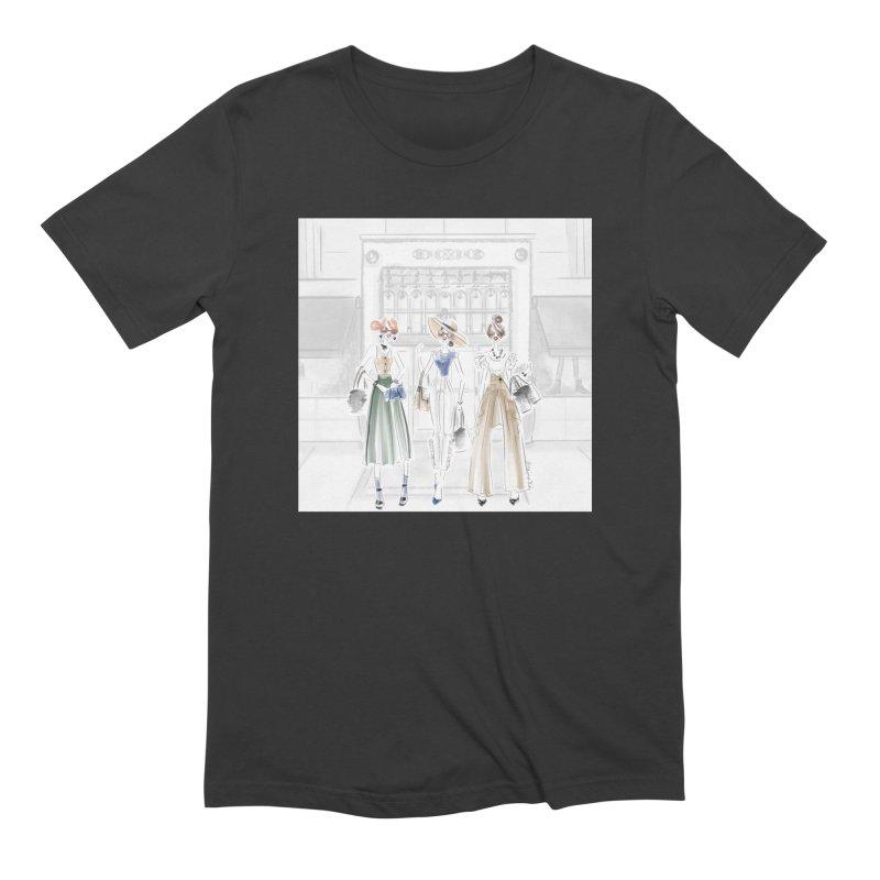 5th Avenue Girls Men's Extra Soft T-Shirt by deannakei's Artist Shop