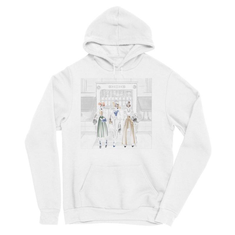 5th Avenue Girls Men's Sponge Fleece Pullover Hoody by Deanna Kei's Artist Shop