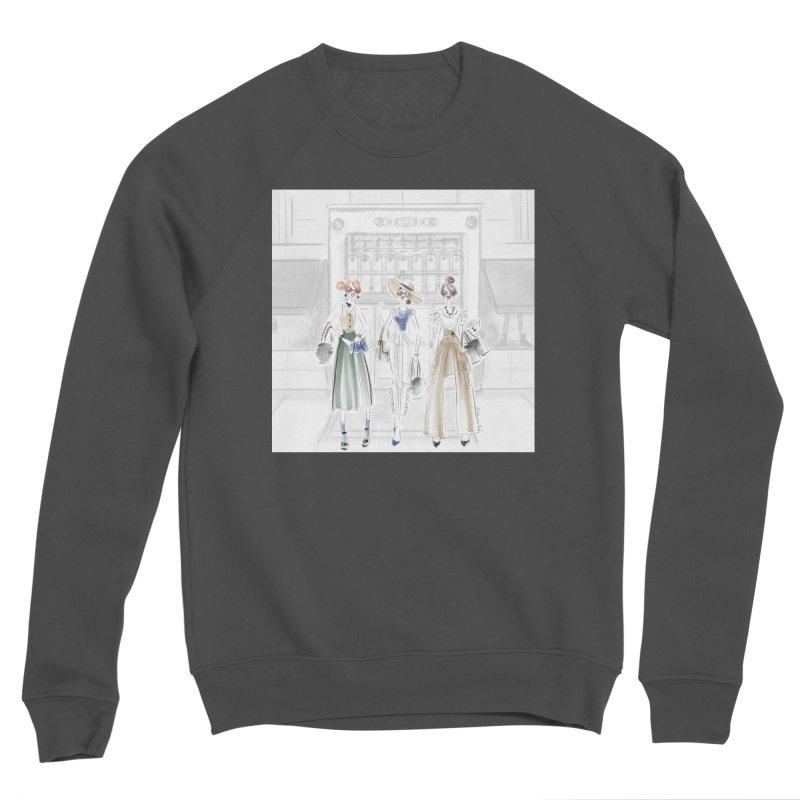 5th Avenue Girls Men's Sponge Fleece Sweatshirt by Deanna Kei's Artist Shop