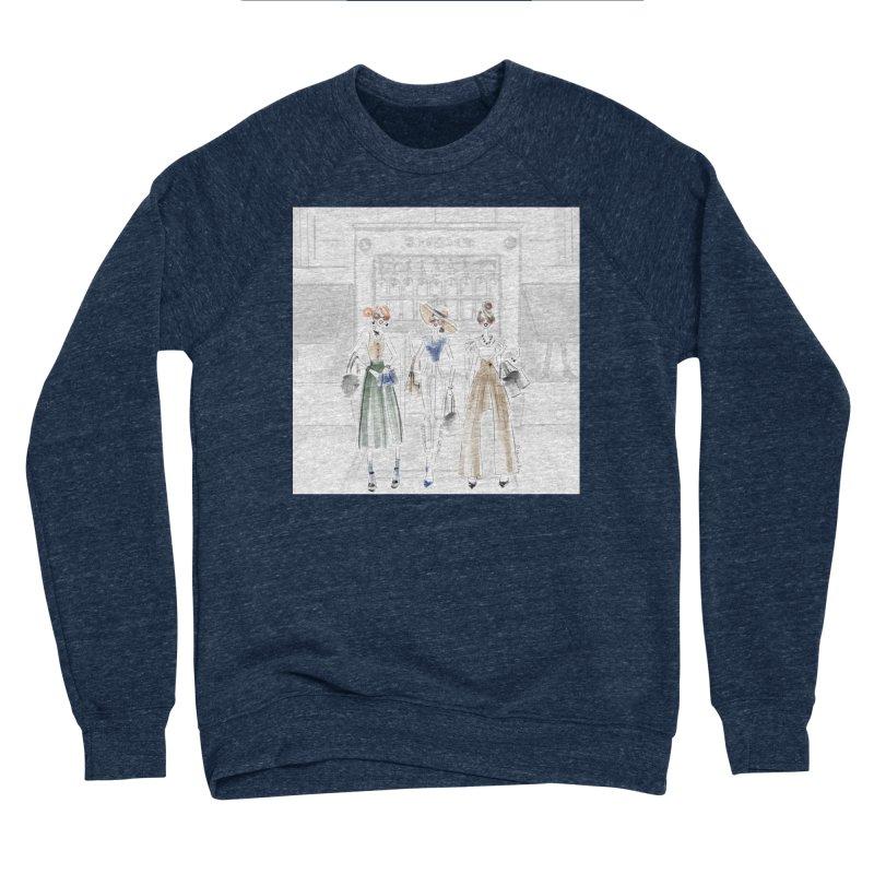 5th Avenue Girls Women's Sponge Fleece Sweatshirt by deannakei's Artist Shop