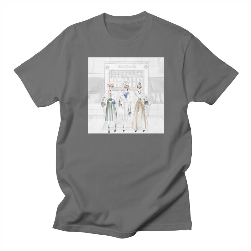 5th Avenue Girls Men's T-Shirt by deannakei's Artist Shop