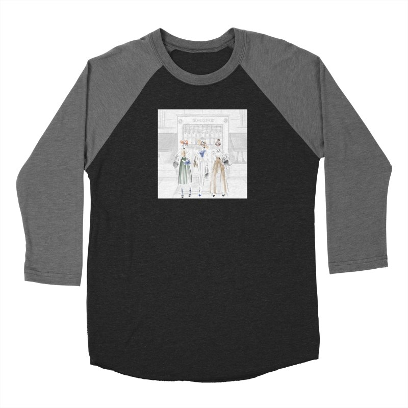 5th Avenue Girls Men's Baseball Triblend Longsleeve T-Shirt by Deanna Kei's Artist Shop
