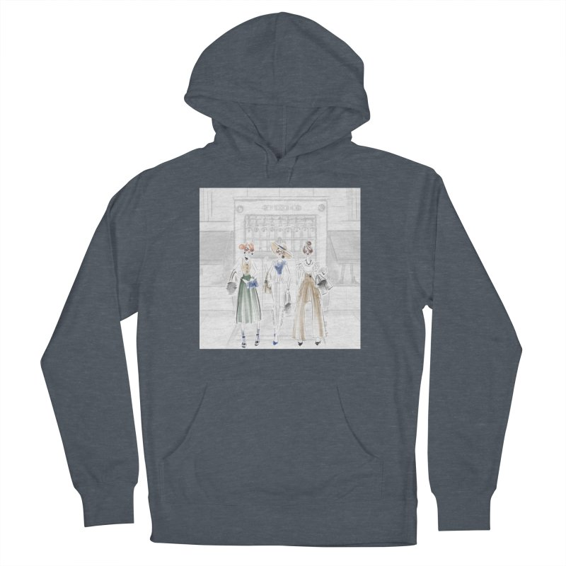 5th Avenue Girls Women's French Terry Pullover Hoody by Deanna Kei's Artist Shop