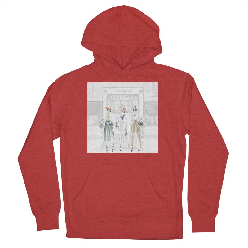 5th Avenue Girls Men's French Terry Pullover Hoody by Deanna Kei's Artist Shop