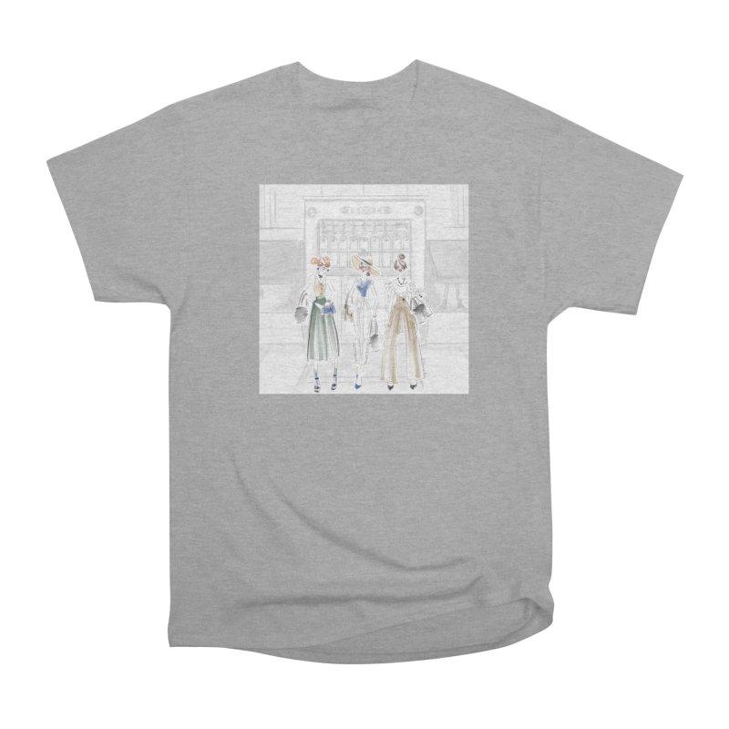 5th Avenue Girls Men's Heavyweight T-Shirt by deannakei's Artist Shop