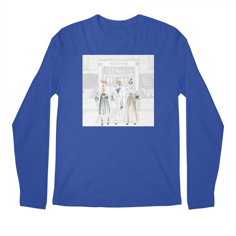 5th Avenue Girls Men's Regular Longsleeve T-Shirt by Deanna Kei's Artist Shop