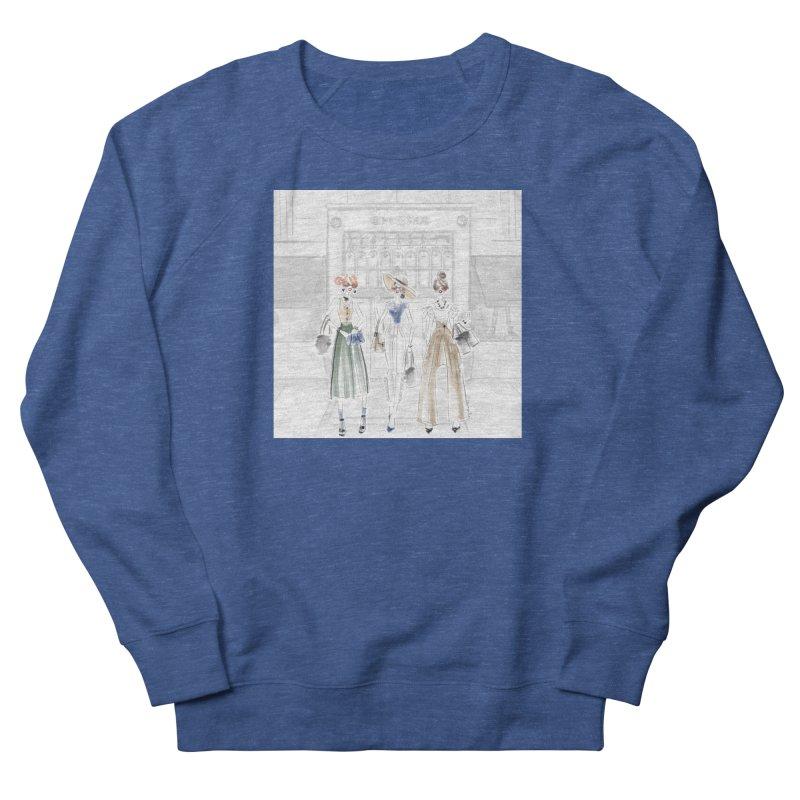 5th Avenue Girls Women's French Terry Sweatshirt by Deanna Kei's Artist Shop