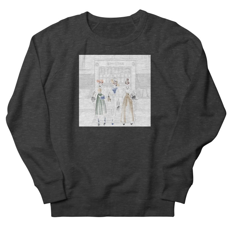 5th Avenue Girls Men's French Terry Sweatshirt by deannakei's Artist Shop