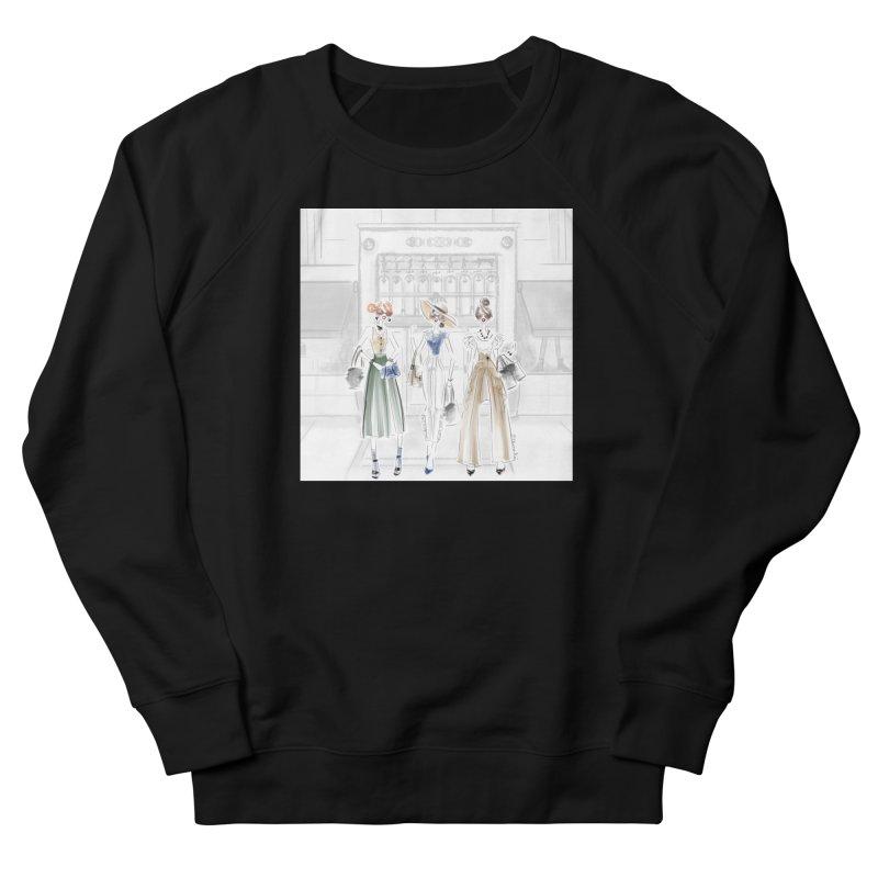 5th Avenue Girls Men's French Terry Sweatshirt by Deanna Kei's Artist Shop