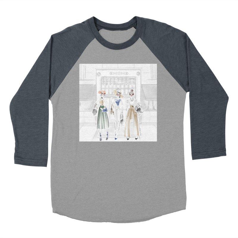 5th Avenue Girls Women's Baseball Triblend Longsleeve T-Shirt by Deanna Kei's Artist Shop
