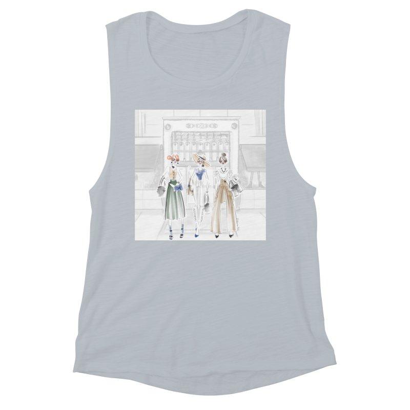 5th Avenue Girls Women's Muscle Tank by Deanna Kei's Artist Shop