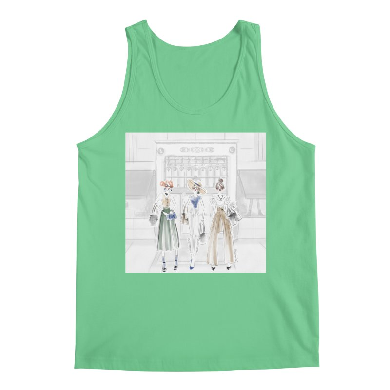 5th Avenue Girls Men's Regular Tank by Deanna Kei's Artist Shop