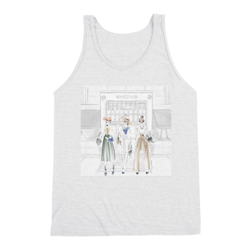 5th Avenue Girls Men's Triblend Tank by Deanna Kei's Artist Shop
