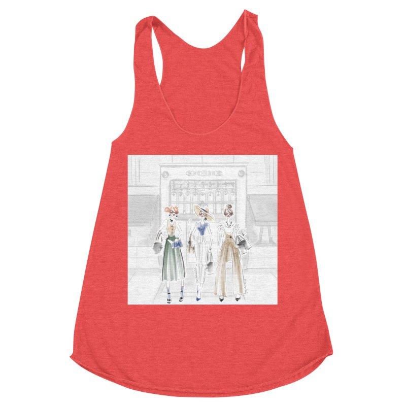 5th Avenue Girls Women's Tank by Deanna Kei's Artist Shop