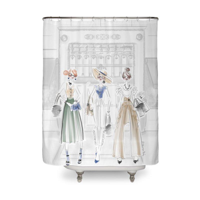 5th Avenue Girls Home Shower Curtain by Deanna Kei's Artist Shop