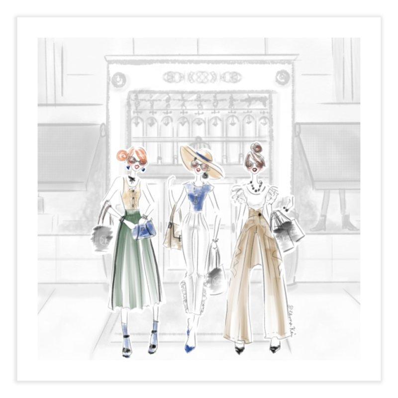 5th Avenue Girls Home Fine Art Print by deannakei's Artist Shop