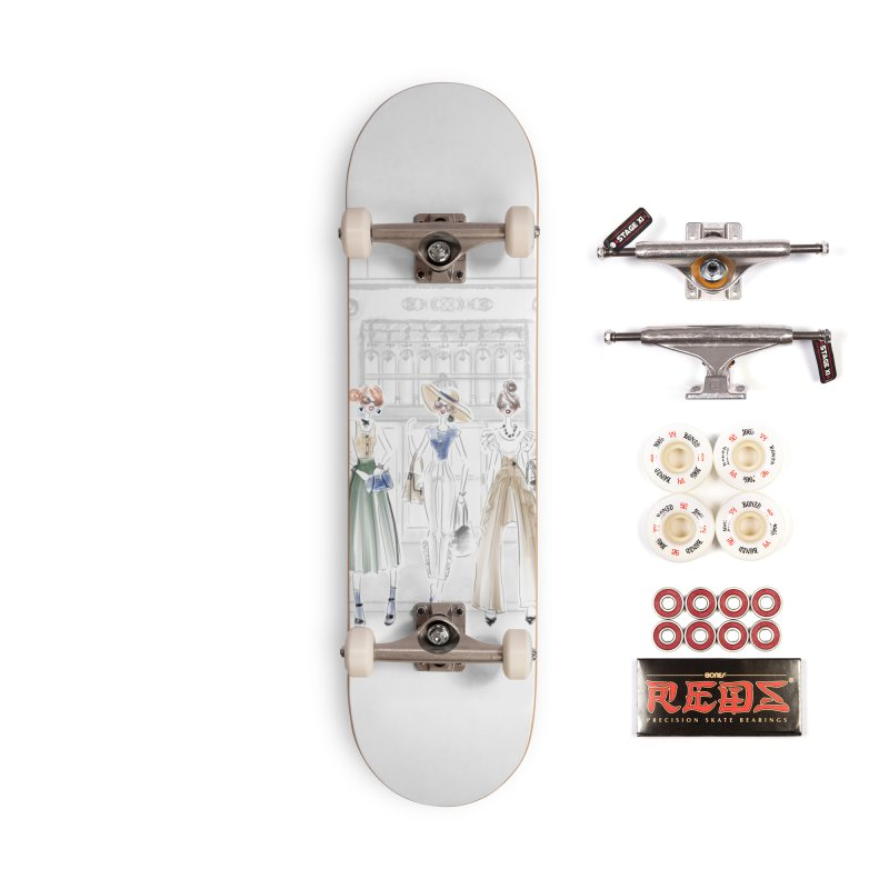 5th Avenue Girls Accessories Complete - Pro Skateboard by deannakei's Artist Shop