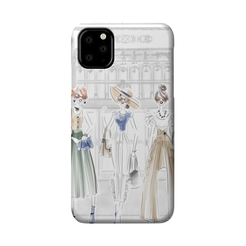 5th Avenue Girls Accessories Phone Case by Deanna Kei's Artist Shop