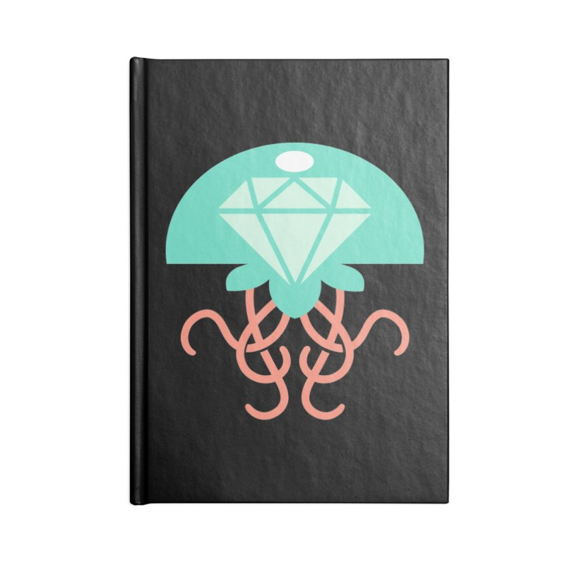 Jeweled Jungle Jellyfish Accessories Notebook by deantrippe's Artist Shop