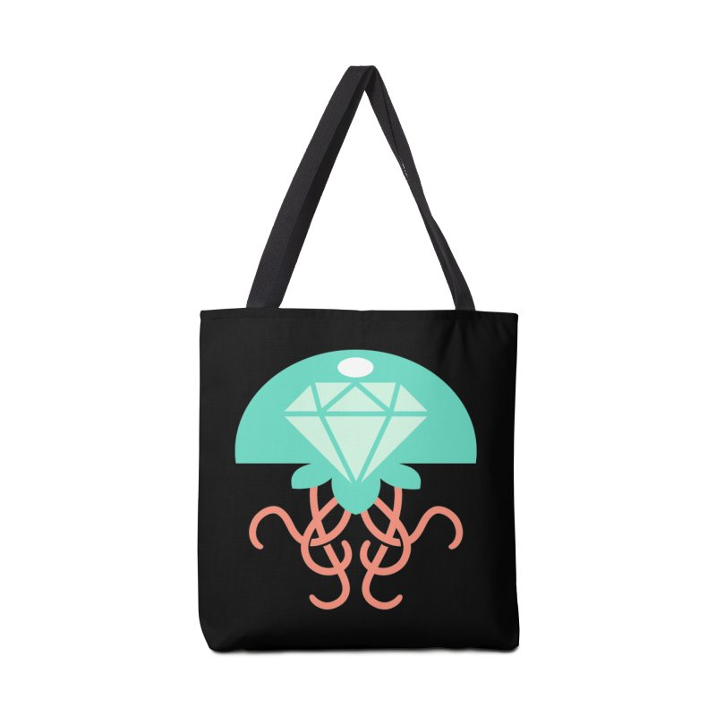 Jeweled Jungle Jellyfish Accessories Bag by deantrippe's Artist Shop