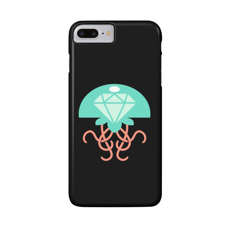 Jeweled Jungle Jellyfish Accessories Phone Case by deantrippe's Artist Shop