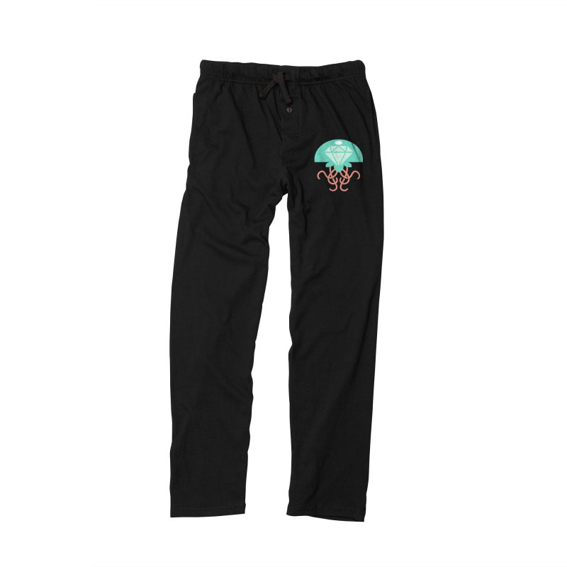 Jeweled Jungle Jellyfish Men's Lounge Pants by deantrippe's Artist Shop