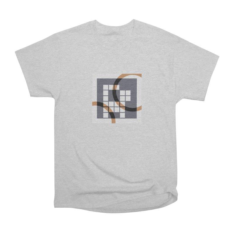 Calico Crossword Cat Men's Classic T-Shirt by deantrippe's Artist Shop