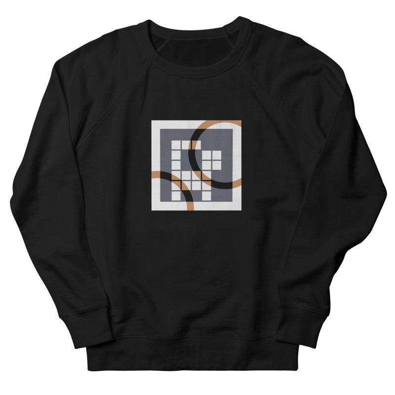 Calico Crossword Cat Men's Sweatshirt by deantrippe's Artist Shop